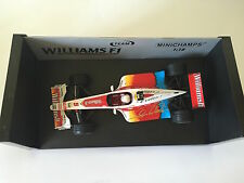 Alex Zanardi Hand Signed Williams 1999 Minichamps 1:18 Diecast Model.