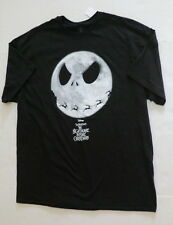 mens large Nightmare before Christmas shirt new jack Skellington moon reindeer