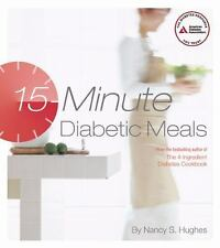 15-Minute Diabetic Meals-ExLibrary