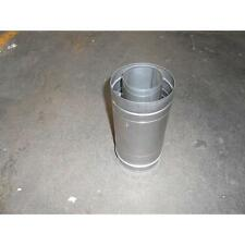 """Noritz CVP-4STR - 4"""" Straight Concentric Stainless Steel Vent Pipe"""
