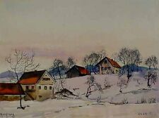 Verzeichn. Maler Herbert Borchard *1911 Berlin Moderne Bild Zlebict  xxxxxx