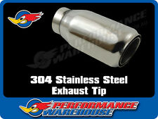 TANABE SLANT S.S. EXHAUST TIP EXTENSION  63mm INLET 89mm OUTLET 198mm OVERALL