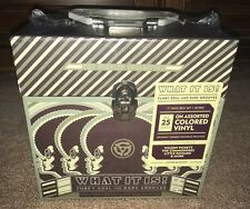 "WHAT IT IS Funky Soul Rare Grooves Collection 7"" vinyl BOX SET BRAND NEW SEALED"