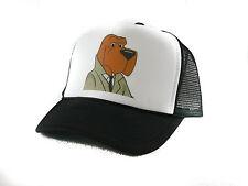 Vintage McGruff the Crime Dog Trucker Hat snapback hat original new black