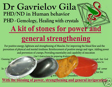 A Set of Natural Healing Crystals for Power & General Strengthening