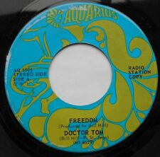 FREEDOM (North /  of Choice) Doctor Tom PROMO CANADA 1970 AQUARIUS PSYCH 45
