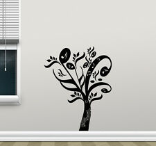 Musical Tree Wall Decal Music Notes Studio Vinyl Sticker Decor Home Poster 92hor