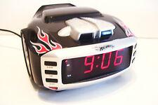 Hot Wheels Race Car Clock Radio  Model 8W800 AM FM Digital Modern