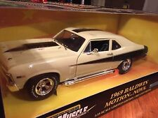 Ertl 1/18 1969 Chevy Nova 427 Baldwin Motion . Item 32479