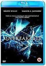 UNBREAKABLE (Bruce Willis) - BLU-RAY - REGION B UK