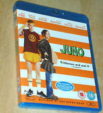 Juno (Blu-Ray:) Ellen Page Michael Cera (Genuine UK Blu-Ray)