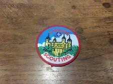Vintage Cloth Patch Scout Badge Scouting Memorabilia Tower of London