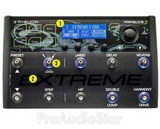 TC Helicon Voicelive 3 Extreme Edition Unrivalled Multi-Fx Automation --