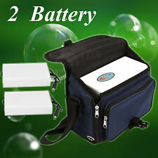 Portable Oxygen Concentrator Generator Machine Home Car+ Two Rechargeble Battery