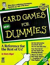Card Games for Dummies Rigal, Barry Paperback