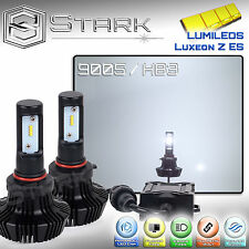 New Z ES LED 8000LM Kit 6000K White Headlight High Beam Only Bulbs 9005 HB3 (E)