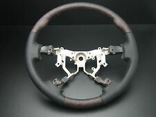 Toyota TUNDRA 2007-2013 wood genuine leather steering wheel replacement