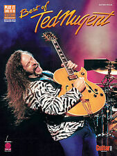 BEST OF TED NUGENT - GUITAR TAB MUSIC SONG BOOK