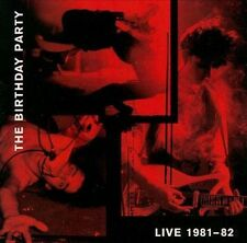 The Birthday Party Live 1981-82 1999 4AD cad 9005 CD