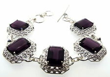 Violet Andara Crystal 925 Bracelet Design 14 FREE WORLDWIDE SHIPPING