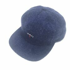 NWT Noah NY Men's Navy Blue Core Logo Embroidered Mohair Wool Hat Cap AUTHENTIC
