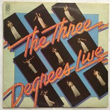The Three Degrees - Live  - Philadelphia Records Vinyl LP S PIR 69197 VG+/G+