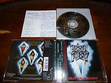Blind Fury / Out of Reach JAPAN Satan Pariah ARMJ-014 *X