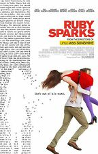 Ruby Sparks Original Double-Sided One Sheet Rolled Movie Poster 27x40 NEW 2012