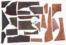 Horween veg tan en cuir 2.0-2.2 mm d'épaisseur craft off coupes 750 grammes derby côtés