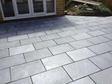 Black Slate Paving Patio & Garden Slabs - 14.90m2- (£24/m2 inc del) - 80x40cm