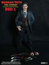 "Redman Toys RMT 1/6 Scale 12"" Cowboy DOC 1 Action Figure RM011"