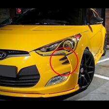 Front Head Bumper Molding Devil's Claw For Hyundai Veloster Non Turbo 2012~2014+