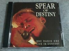 THE SPEAR OF DESTINY - BBC Radio 1 Live In Concert CD
