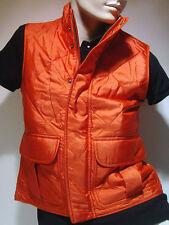 """Ralph Lauren Damen kurzarm Seiden Weste Größe M """" Grand View Vest"""" Orange"""