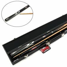 Riley Ronnie O`Sullivan STRIKE 2 pc Ash Snooker CUE CASE & SMART EXTENSION SET