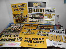 NHL Boston Bruins Stanley Cup & Post Season 40 + Poster Package