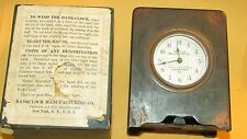 Allentown Pa People Savings Bank Early Bank-Clock with Box Sold As Is