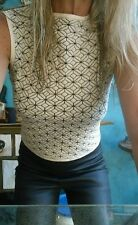"Sass & Bide ""The Modern Day"" Top sz M 8-12"