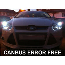 FORD FOCUS FIESTA XENON COOL WHITE LED SIDELIGHT BULBS ERROR FREE RS ST 5 SMD