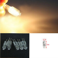 12 pcs Halogen Light Lamp Bulb Capsule 20W 20 Watt 12V G4 Base JC Type 2 Pin