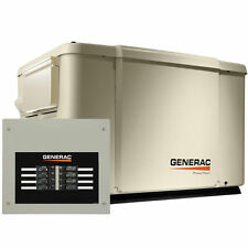 Generac PowerPact 7.5kW Home Standby Generator System (50-Amp 8-Circuit ATS)