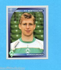 PANINI-CHAMPIONS 2008/2009-Fig.182- MERTESACKER - WERDER BREMA -NEW BLACK