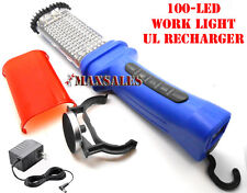 100PCS BRIGHT LED  RECHARGEABLE CORDLESS TROUBLE MECHANIC WORK LIGHT LAMP
