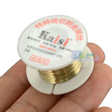 100M 328ft Molybdenum Cutting Line Wire Separator LCD Glass for Cell Phone HTC