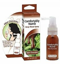 COMFORTABLY NUMB DEEP THROAT MINT CHOCOLATE Spray reduce the discomfort