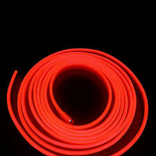 2M Car Decorative LED Wire Auto Interior Atmosphere Cold Light Red Lamp Strip
