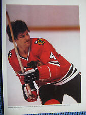 "1977 Bobby Orr Picture 8.5 x 10.5 ""-Chicago Blackhawks-Magazine Picture"