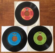 RED SOVINE  Lot of (3) 45 RPM Records