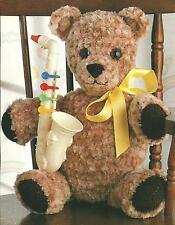 *Plush-Look Teddy Bear crochet PATTERN INSTRUCTIONS