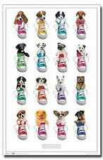 KEITH KIMBERLIN PUPPIES IN SHOES POSTER 22X34 NEW FAST FREE SHIPPING